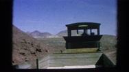 1966: train is seen CALIFORNIA Stock Footage
