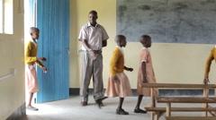 Primary School. Kenya. Africa Stock Footage