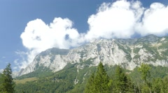 4K The Alps Berchtesgaden National Park Hochkalter Massive Germany Europe Stock Footage
