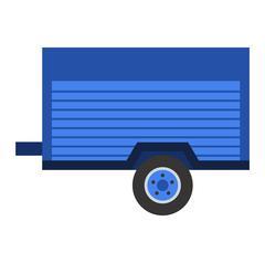 Car trailer vector illustration Piirros