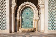 Hassan Mosque design Stock Photos