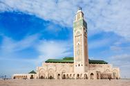 Hassan II Mosque Stock Photos
