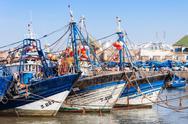 Fishing boats, Essaouira Stock Photos