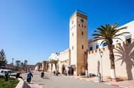 Essaouira central square Stock Photos