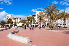 Agadir seafront, Morocco Stock Photos