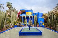 The Majorelle Garden Stock Photos