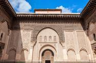 Ben Youssef Medersa Stock Photos