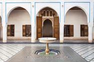 Marrakesh Bahia Palace Stock Photos