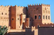 Taourirt Kasbah, Ouarzazate Stock Photos