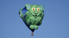 Gremlin balloon at the Park City Aloft Autumn Balloon Festival Stock Footage