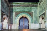 Bab Mansour Gate Stock Photos