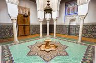 Mausoleum Moulay Ismail Stock Photos