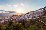 Chefchaouen in Morocco Stock Photos