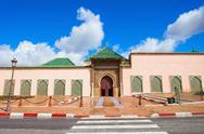 Mausoleum Moulay Ismail Stock Photos