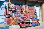 Traditional moroccan textile Stock Photos