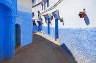 Chefchaouen in Morocco Stock Photos