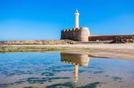 Lighthouse in Rabat Stock Photos