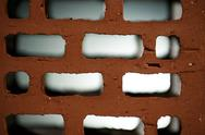 Closeup view of bricks Stock Photos