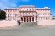 Casa Rosada Pink House Stock Photos
