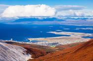 Ushuaia from Martial Glacier Stock Photos