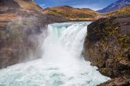 The Salto Grande Waterfall Stock Photos