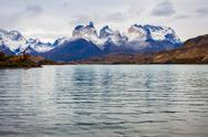 Torres del Paine Park Stock Photos
