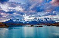 Torres del Paine Park Stock Photos