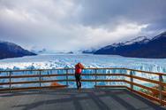 The Perito Moreno Glacier Stock Photos
