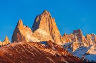 Fitz Roy mountain, Patagonia Stock Photos