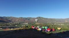 Aloft Balloon Festival Park City Utah 2016 DSC 9 4k Stock Footage
