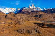 Fitz Roy mountain, Patagonia Stock Photos