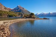 Bariloche landscape in Argentina Stock Photos