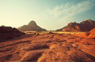 Mountains in Namibia Stock Photos