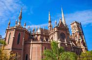 Capuchins Church in Cordoba Stock Photos