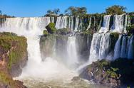 The Iguazu Falls Stock Photos