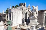 Recoleta Cemetery, Buenos Aires Stock Photos