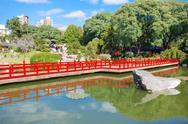 Buenos Aires Japanese Gardens Stock Photos