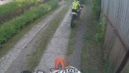 GoPro Motorbike Stock Footage