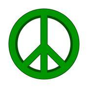 Peace symbol sign. Piirros