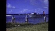 1976: ship is seen FORT WAYNE, INDIANA Stock Footage