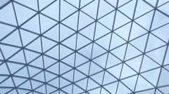 Overlapping roof of the building Stock Footage