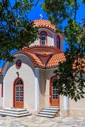 Christianity church in Greece Stock Photos