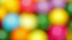 Background color of candy Stock Footage