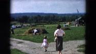 1957: garden is seen HICKSVILLE, NEW YORK Stock Footage