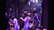 1971: community gathering OMAHA, NEBRASKA Stock Footage
