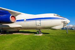 The Ilyushin Il-76 aircraft Stock Photos