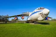 The Ilyushin Il-76 aircraft Stock Photos