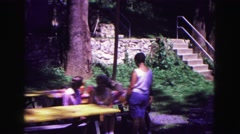 1971: moment of joy in nature OMAHA, NEBRASKA Stock Footage