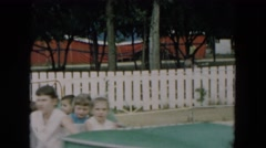 1957: an amusement park HICKSVILLE, NEW YORK Stock Footage