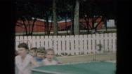 1957: an amusement park HICKSVILLE, NEW YORK Stock Footage